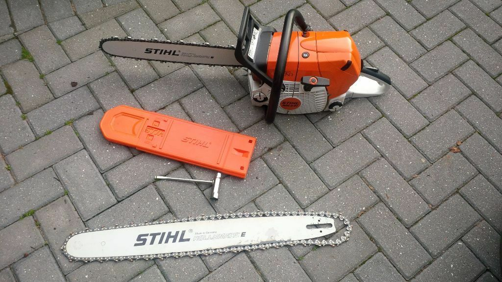 stihl ms 441 c petrol chainsaw with 18 25 bar chain awesome condition in nunthorpe. Black Bedroom Furniture Sets. Home Design Ideas