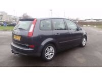 FORD C-MAX DIESEL MANUAL IN VERY CLEAN CONDITION. MOT FEBRUARY 2018 & TAX. 2 KEYS. 1 PREVIOUS OWNER