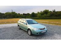 2007 Chevrolet Lacetti Estate 1.6 Petrol 5 speed Manual 4 Months M.O.T GREEN