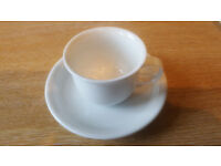 Thomas coffee cups and saucers (10)