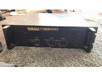 YAMAHA P2500 Dual Channel Power Amp