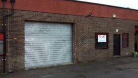 Industrial unit/ workshop to rent on Skippers Lane Industrial Estate. 1700sqft plus yard
