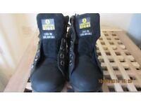Amblers Steel Mens Steel Toe Cap Boots Brand New.