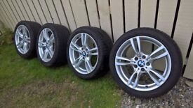 """BMW 3 Series 18"""" M Sport Alloys and Tyres"""