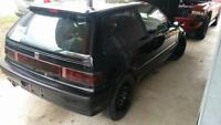 1990 civic SI , JDM b16a swapped