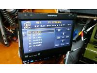 Wripspeed car dvd player 7in