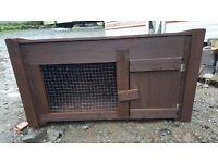 Single rabbit cage