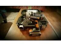 Worx 20V Impact Driver with hard carry case