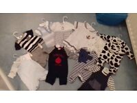Baby Boy Clothes Bundle all sizes 0-9 month