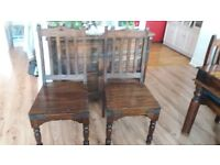 2 dinning room chairs for sale