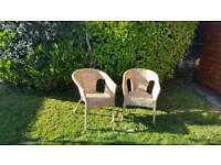 Wicker Chairs - Excellent Condition