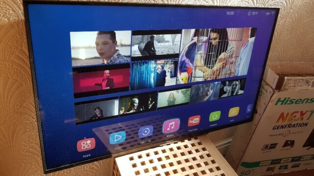 HISENSE 55-inch ULTRA HD 4K SUPER Smart 3D LED TV,HAS Wifi, SMART IPTV  app,Freeview & FREESAT HD | in Salford, Manchester | Gumtree