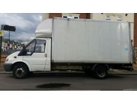 REMOVALS SERVICE - MAN WITH LUTON VAN WITH TAILLIFT - 02088431214/07588441261