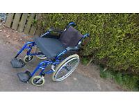 Enigma Lightweight Aluminum Self Propelled Wheelchair