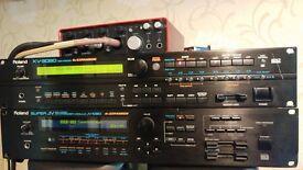roland jv 1080 synthesizer sound module synth