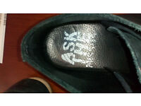 """""""ask the missing"""" man summer boots (black, soft quality 100% leather),perfect condition...SIZE 9..."""