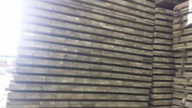 19mm x 100mm x 1800mm Green Treated fence slats for fencing