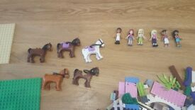 Lego Friends (another 3kg) for girls including mini figures and horses