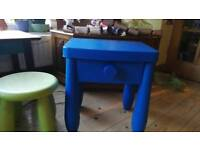 Kids desk and free stool
