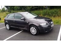 FOR SALE AUDI A3 1.9TDI ,MANUAL,GREY METALIC,ONLY 136000,1 YEAR MOT ,GOOD RUNNER,BOSE SOUND SYSTEM