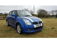 NOV 2006 SUZUKI SWIFT VVTI..MOTED TO APRIL 2018..FULL SERVICE HISTORY..POSSIBLE PART EXCHANGE