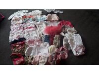 Amazing baby girls bothes bundle 0-3 months, Ted baker, little Rocha, Next etc