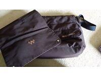 Maclaren brown nappy bag