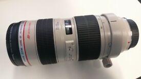 MINT used Canon EF 70-200mm F/2.8 EF IS L USM Lens