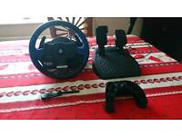 Thrustmaster T150 Force Feedback Wheel (PS4/PS3/PC)