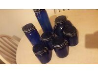 kitchen storage canisters jars set