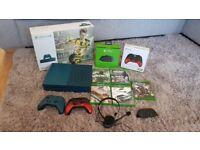 Xbox One S 500GB Deep Blue bundle