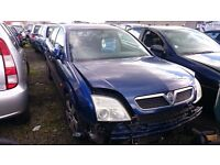 2005 VAUXHALL VECTRA CLUB DTI 16V, 2.0 DIESEL, BREAKING FOR PARTS ONLY, POSTAGE AVAILABLE NATIONWIDE