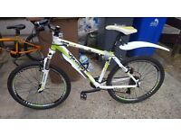 1 bmx and 1 mountain bike for sale