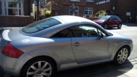 AUDI TT 1.8 EXCELLENT CONDITION NEW MOT, FULL SERVICE HISTORY. REDUCED FOR QUICK SALE ONO
