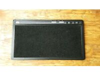 Guitar effects pedal board by SKB