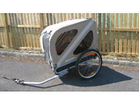 Croozer Dog Bike Trailer - fantastic trailer attaches to any standard cycle .