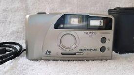 Olympus Newpic XB 35mm film 24mm lens wide Point & Shoot camera APS zoom rangefinder pre digital