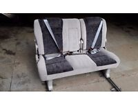 VW T5,Vauxhall vivaro,Trafic rear bench seat