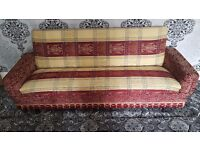 1 X SETTEE IN GOOD CONDITION