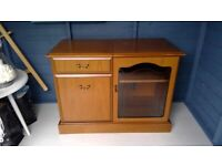 Cabinet vintage looking good storage for books, music etc
