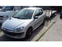 Peugeot 206 1.4 Fever 2003/53 110k Very tidy, new clutch.