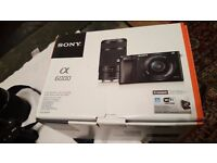 Sony ILCE 6000Y Mirrorless Camera + 16-50mm + E55-210mm Lens + 2 Years Warranty