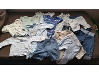 Bundle of clothes 3-6 mts for boys