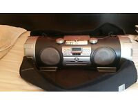 HUGH JVC BOOMBOX WITH BAG IN EXCELLENT CONDITION EXTREMELY LOUD AND MEGA DEEP BASS