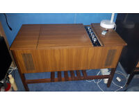 Vintage Marconiphone Stereo Record Player Model 4418 Serviced Full Working Order £100 OVNO