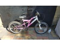 VERTIGO MOUNTAIN BIKE 20'WHEELS 6YRS+