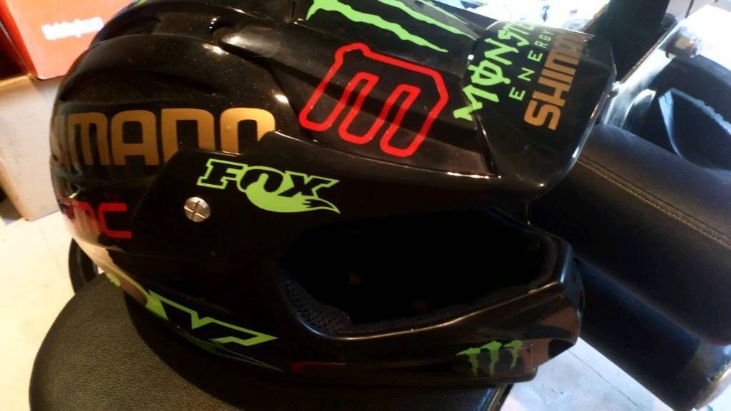 Bmx Mountain Bike Full Face Helmet In Braintree Essex Gumtree