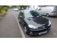 Peugeot 206 Verve 1.4 petrol MoT till mid March £500 ONO