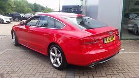 AUDI A5 sportback 2.0 tfsi HAS NEW ENGINE UNDER AUDI WARRANTY ONLY DONE 8000 MLS