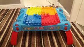 Mega Block lego table